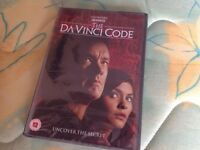 Brand new and sealed The Da Vinci Code DVD