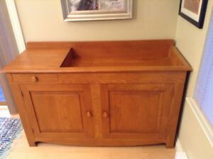 Classic Solid Pine Dry Sink