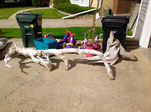 Massive Landscaping Freshwater Driftwood Pieces