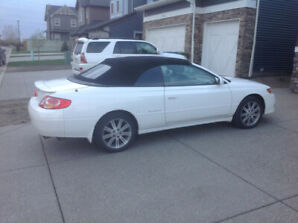 2002 TOYOTA SOLARA CONVERTIBLE ONE OWNER NO ACCIDENTS