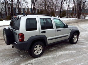 2006 JEEP LIBERTY 4X4 - TURBO DIESEL CRD - 145000KMS CERTIFIES!