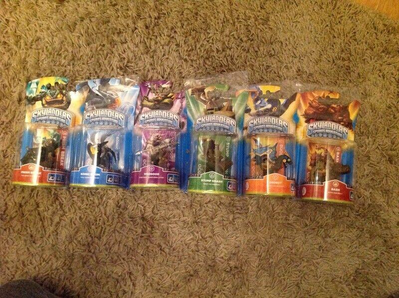 Skylanders set of 6