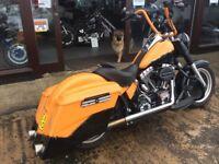 Ride Away Today Stunning Custom Harley Davidson Fatboy Bagger 2011