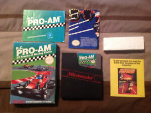 RC Pro Am boxed for Nintendo