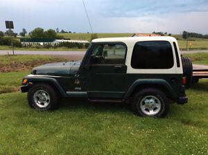 2002 Jeep TJ Safari Convertible