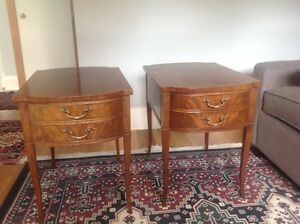pr End tables 1950s Deilcraft from Ontario
