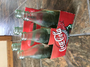 1960 era Coca Cola bottles