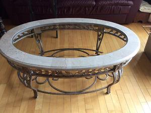 Tables en  marbre ( Peut vendre separement)