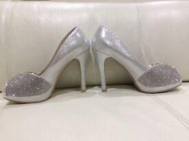 Sparkly diamanté shoes