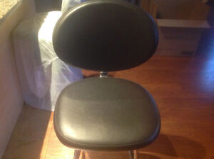 Kitchen Counter  Genuine Leather Swivel Chairs