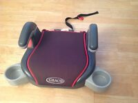 Graco child's car booster seat