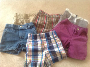 Boys shorts size 6-9 months