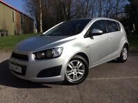 Chevrolet Aveo 1.3TD ( 74bhp ) 2012MY LT Free Road Tax Cheap Car