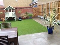 Artificial grass amazing quality you won't buy better £15 sq Metre 4 metres wide supplied!