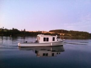 36' Fiberglass boat for sale