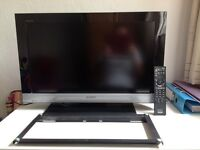 Sony Bravia 26-TV and wall mount