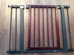 Barrière en bois et acier Munckin