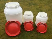 Wide Necked Plastic Drums