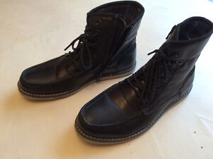 Nevada size 7 M black men's shoes, like new worn once.