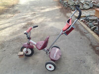 Radio Flyer Tricycle w/ removable parent handle