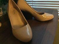Clark Nude shoes size uk6