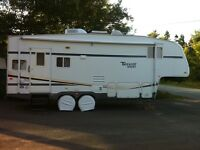 Fifth wheel camper for sale!