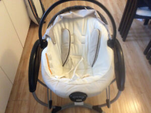 Graco vibrating swing with music