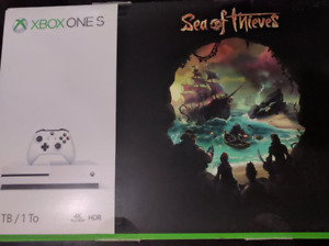 Xbox One S 1TB Sea of Thieves bundle (New in Box)