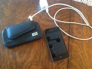 i phone 4 s avec telus 16 gigs noir