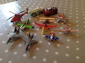 Disney Diecast Planes/trucks
