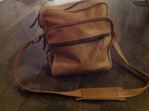 Vintage leather Camera bag
