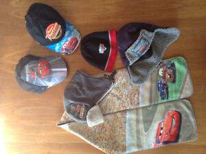 Disney Cars Hats and Scarf - size 4T-6X