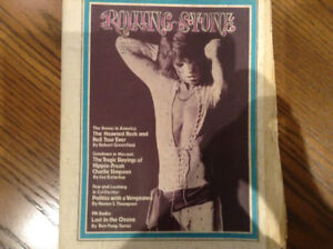 Rolling Stone Magazine 1972 with Mick Jagger on the cover