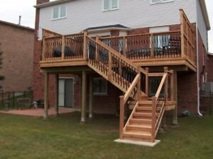 DECK BUILDING & DESIGN, FENCE  BUILDING  and Post Holes