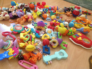 Tons of baby toys