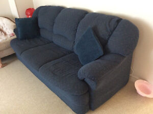 Couch and armchair 100 $