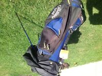 Callaway golf bag. Blue