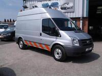 2010 10 FORD TRANSIT 2.4 350 RWD MWB 140BHP WORKSHOP COMPRESSER / JENNY 34K MILE