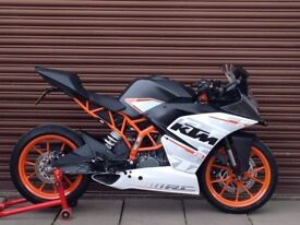 KTM RC 390 ABS 2016. Only 3323miles. Delivery Available *Credit & Debit Cards Accepted*