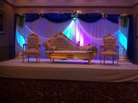 Asian wedding stages