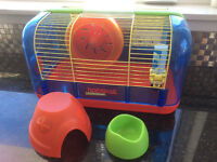 Hamster or small animal cage