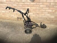 Powa kaddy electric golf trolley used good condition fully working