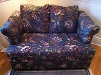 SINGLE TYPE FLORAL SOFA/HIDEABED