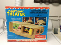 Fisher price vintage movie viewer visionneuse