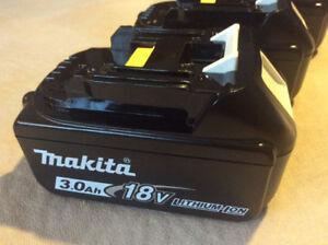 Batterie makita 18v 3Ah