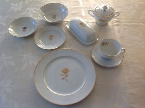 China Dishes - 6 place settings plus extras