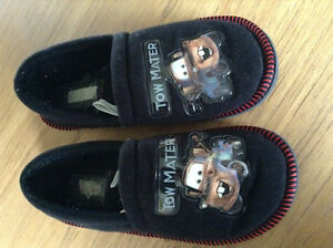 Disney Cars Slippers -Tow Mater size 11-12