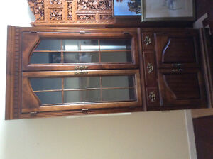 2 China cabinets for sale