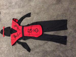 Costume d'Halloween Ninja 8-10 ans