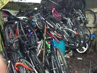 Bikes job lot